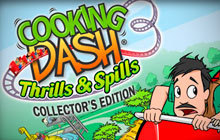 Cooking Dash 3: Thrills and Spills Collector's Edition Badge