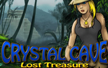 Crystal Cave Lost Treasure Badge