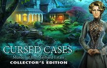 Cursed Cases: Murder at the Maybard Estate Collector's Edition Badge