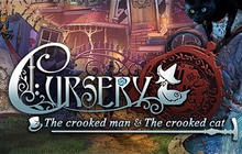 Cursery: The Crooked Man and the Crooked Cat Badge