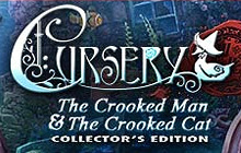 Cursery: The Crooked Man and the Crooked Cat Collector's Edition Badge