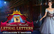 Danse Macabre: Lethal Letters Collector's Edition Badge