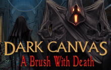 Dark Canvas: A Brush With Death Badge