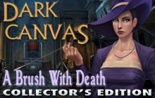 Dark Canvas: A Brush With Death Collector's Edition Badge