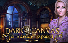 Dark Canvas: A Murder Exposed Badge