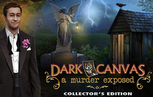 Dark Canvas: A Murder Exposed Collector's Edition Badge