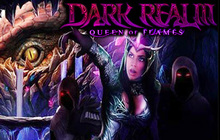 Dark Realm: Queen of Flames Badge