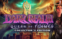 Dark Realm: Queen of Flames Collector's Edition Badge