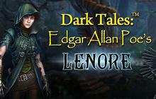 Dark Tales: Edgar Allan Poe's Lenore Badge