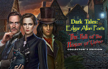 Dark Tales - Edgar Allan Poe's The Fall of the House of Usher Collector's Edition Badge