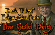 Dark Tales: Edgar Allan Poe's The Gold Bug Badge