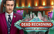 Dead Reckoning: Sleight of Murder Collector's Edition Badge