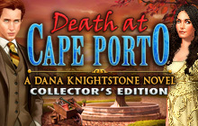 Death at Cape Porto: A Dana Knightstone Novel Collector's Edition Badge