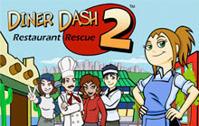 Diner Dash 2: Restaurant Rescue Badge