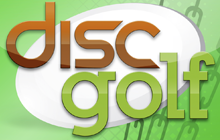 Disc Golf 3D Badge