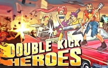 Double Kick Heroes Badge
