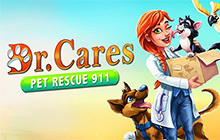 Dr. Cares: Pet Rescue 911 Collector's Edition Badge