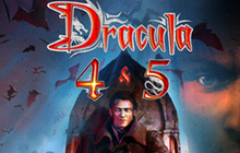 Dracula 4 and 5 Badge
