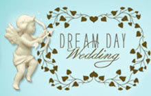Dream Day Wedding Badge