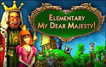 Elementary My Dear Majesty! Badge