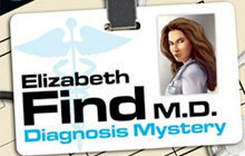 Elizabeth Find M.D. Diagnosis Mystery Badge