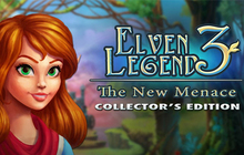 Elven Legend 3: The New Menace Collector's Edition Badge