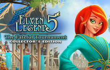 Elven Legend 5: The Fateful Tournament Collector's Edition Badge