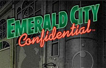 Emerald City Confidential Badge