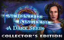 Enchanted Kingdom: A Dark Seed Collector's Edition Badge