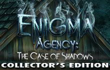 Enigma Agency: The Case of Shadows Collector's Edition Badge