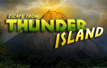 Escape From Thunder Island Badge