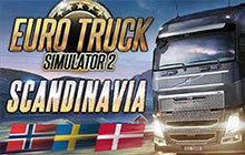 Euro Truck Simulator 2 - Scandinavia Badge