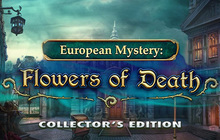 European Mystery: Flowers of Death Collector's Edition Badge