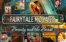 Fairytale Mosaics Beauty And The Beast Badge