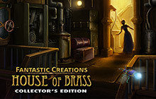 Fantastic Creations: House of Brass Collector's Edition Badge