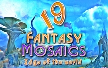 Fantasy Mosaics 19: Edge of the World Badge