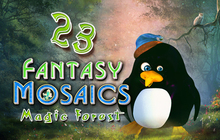 Fantasy Mosaics 23: Magic Forest Badge