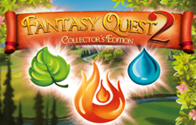 Fantasy Quest 2 Collector's Edition Badge