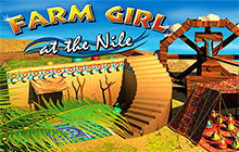 Farm Girl at the Nile Badge