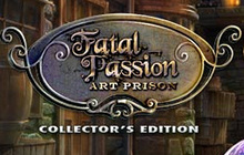 Fatal Passion: Art Prison Collector's Edition Badge