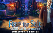 Fear for Sale: City of the Past Collector's Edition Badge