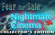 Fear for Sale: Nightmare Cinema Collector's Edition Badge