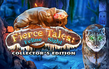 Fierce Tales: Feline Sight Collector's Edition Badge