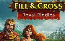 Fill and Cross Royal Riddles Badge