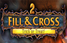 Fill and Cross Trick or Treat 2 Badge