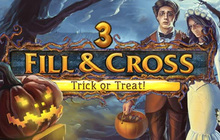 Fill and Cross Trick or Treat 3 Badge
