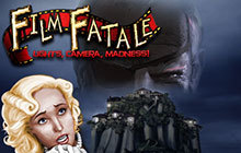 Film Fatale: Lights, Camera, Madness! Badge