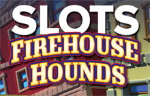 IGT Slots Firehouse Hounds 8-Pack Badge