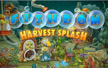 Fishdom Harvest Splash Badge