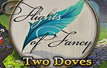 Flights of Fancy: Two Doves Badge